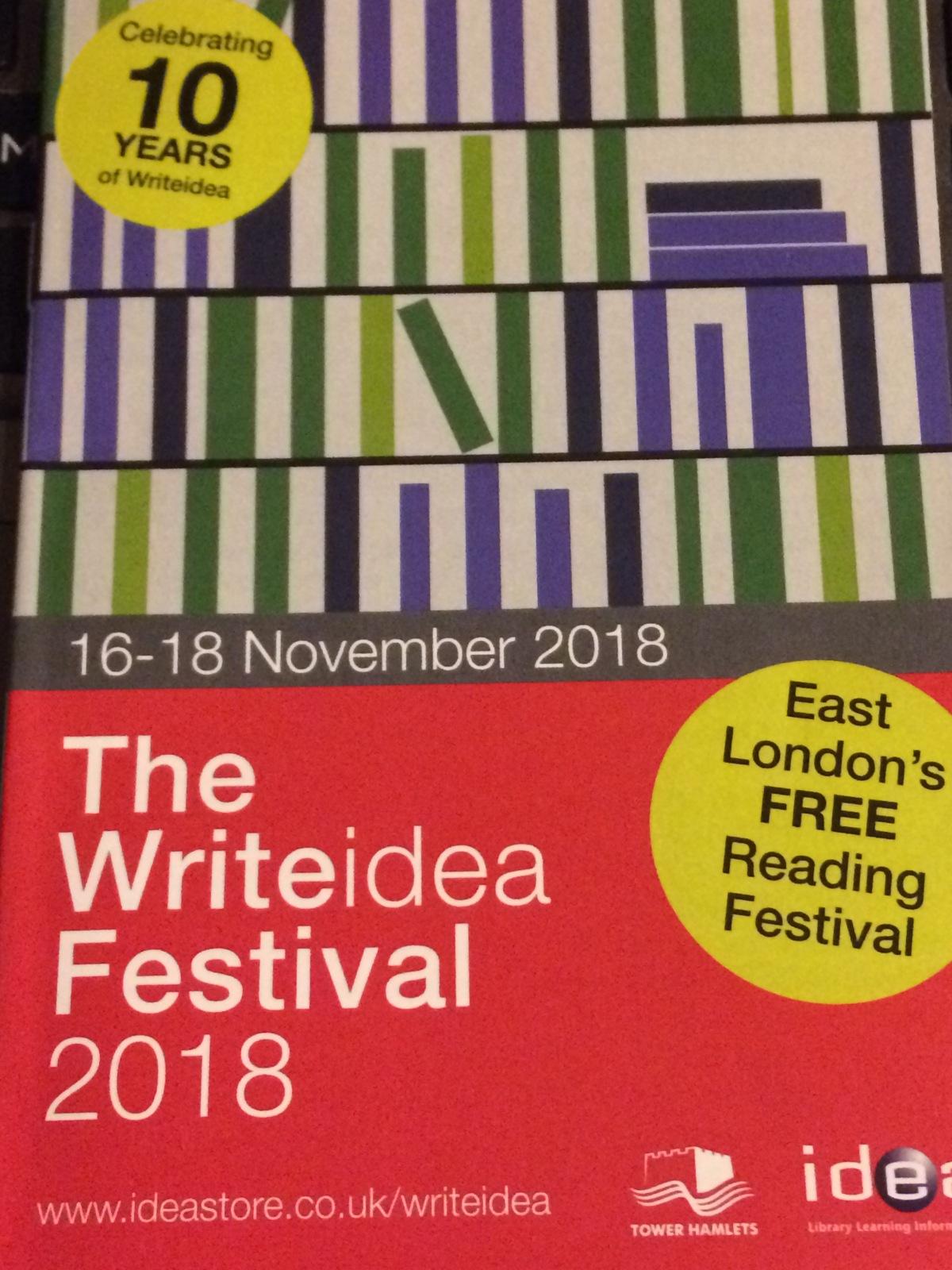 Writeidea Festival 2018